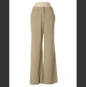 Womens Khaki pants size 8 Boot cut